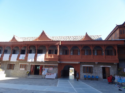 The lodge inside Bhimakali temple complex