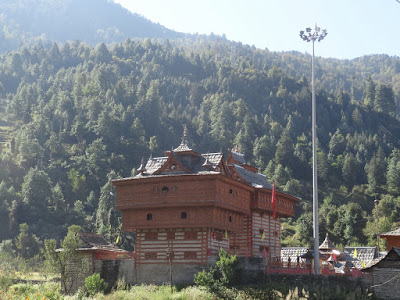 Bhimakali temple view from the road