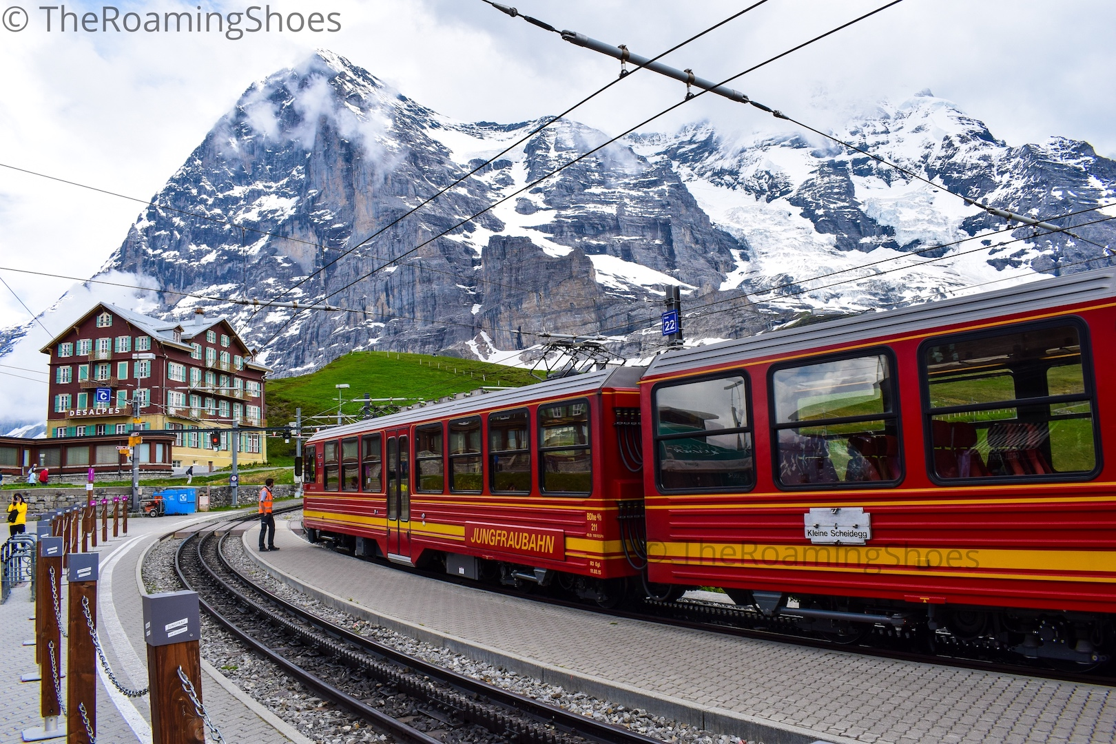 The train to Jungfraujoch