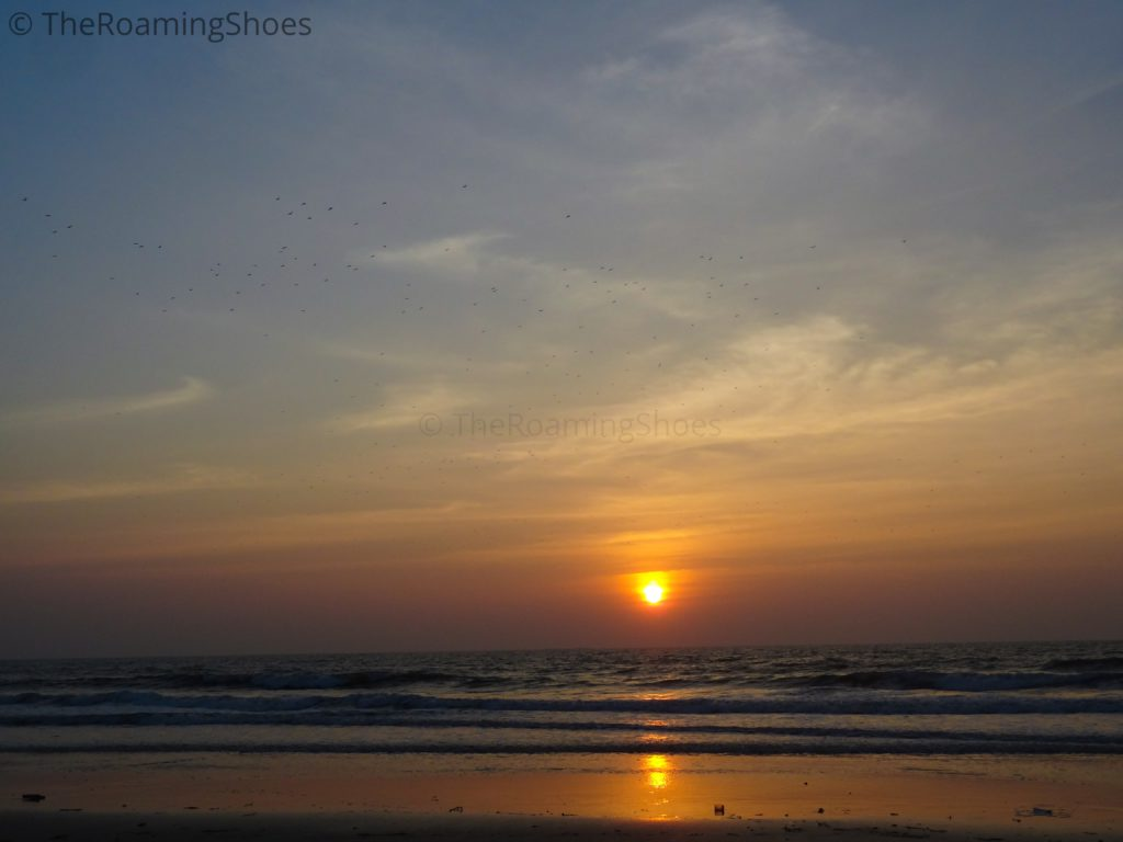 Sunset at Kodi Beach