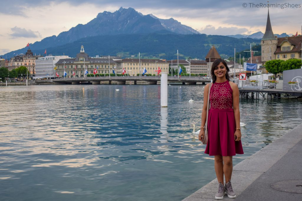 Lucerne in the evening