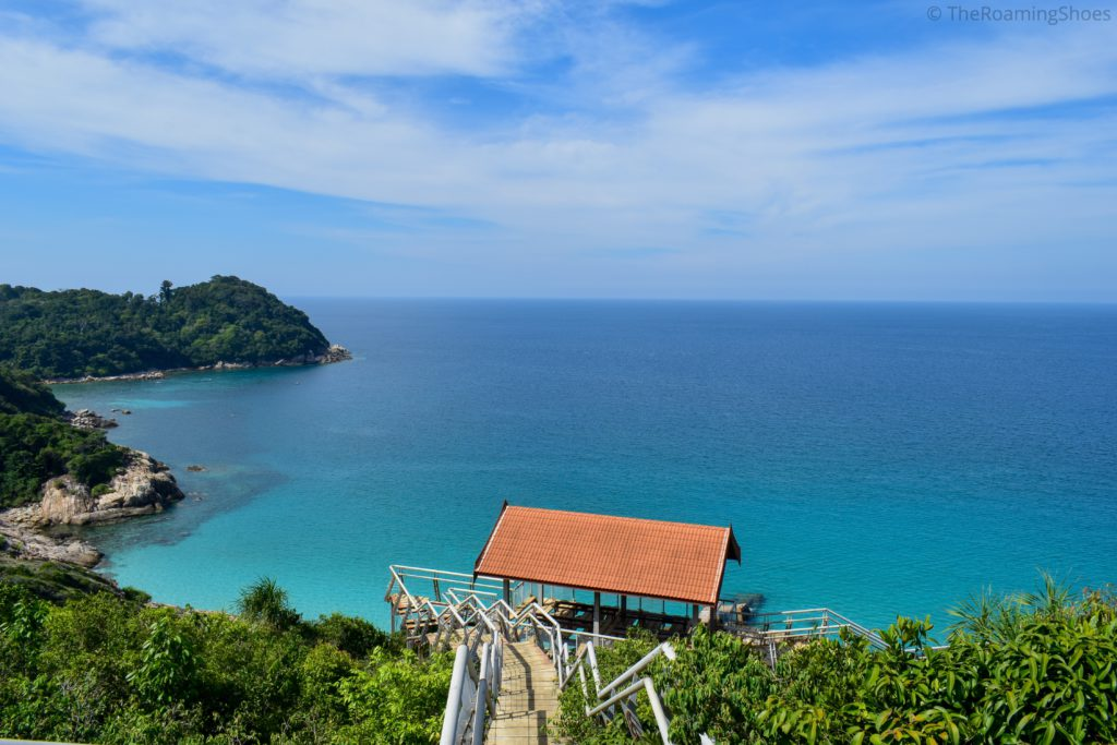 View from Windmill Point, Perhentian Kecil